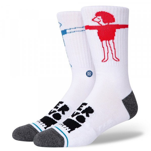 STANCE ZEĶES LOVER WHITE