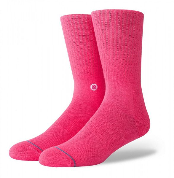 STANCE ZEĶES ICON NEON PINK