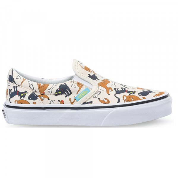 VANS APAVI CLASSIC SLIP-ON (THE SIMPSONS) FAMILY PETS
