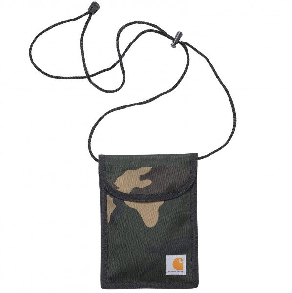 CARHARTT WIP SOMA COLLINS NECK POUCH CAMO LAUREL