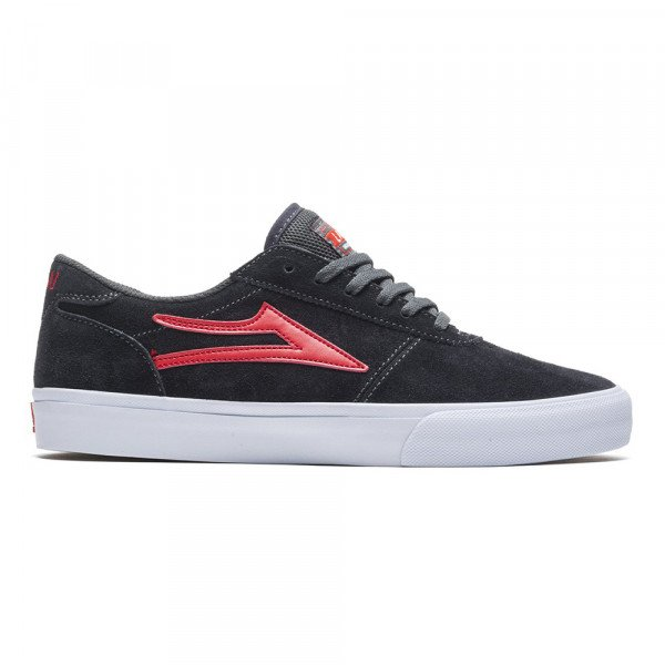 LAKAI APAVI MANCHESTER CHARCOAL FLAME SUEDE