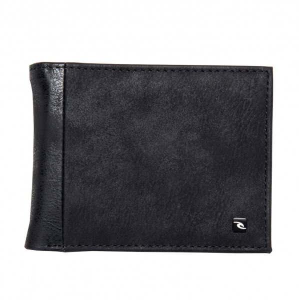RIP CURL WALLET CONTRAST RFID PU ALL DAY BLACK