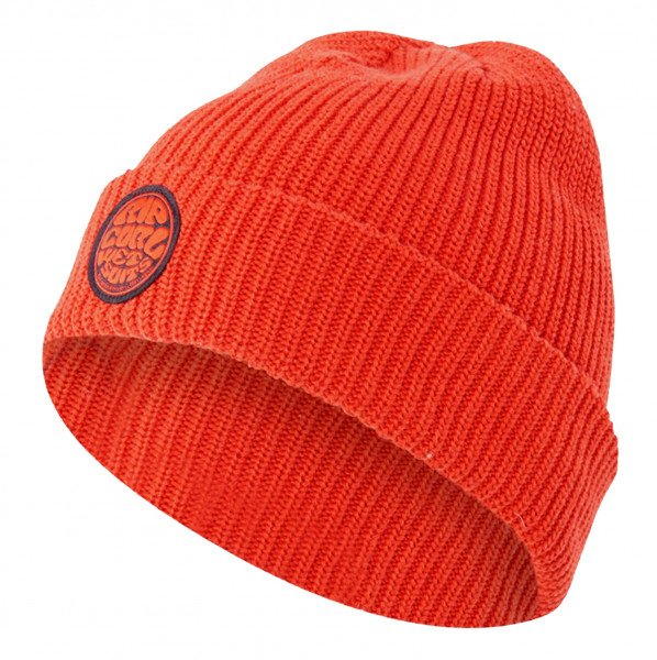 RIP CURL BEANIE ORIGINAL SURFERS WASHED RED