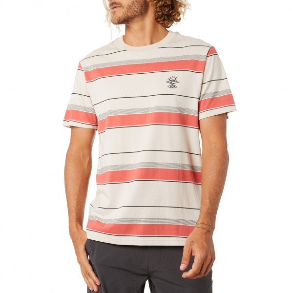 RIP CURL T-SHIRT SEARCHERS NOMAD BONE