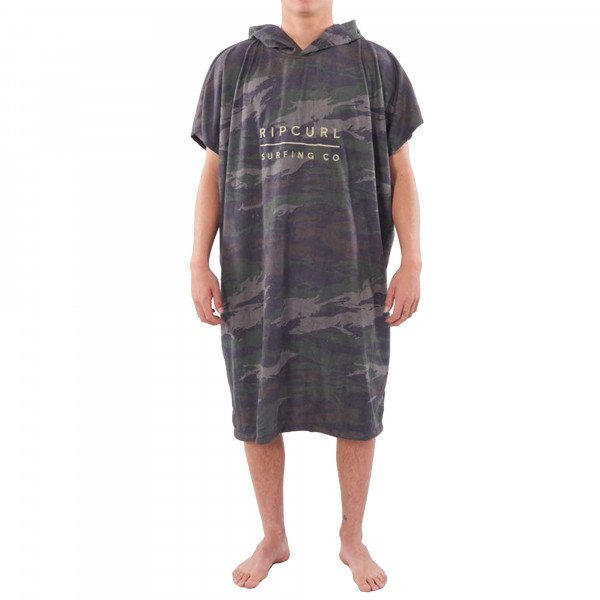 RIP CURL DVIELIS MIX UP HOODED GREEN