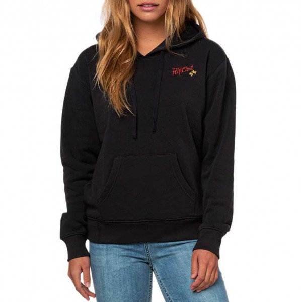 RIP CURL HOOD AULAVIK FLEECE DARK GREY