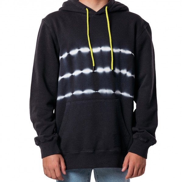 RIP CURL HOOD GRATEFUL DYE KIDS WASHED BLACK