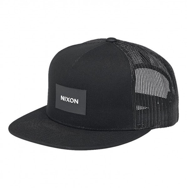 NIXON CEPURE TEAM TRUCKER BLACK