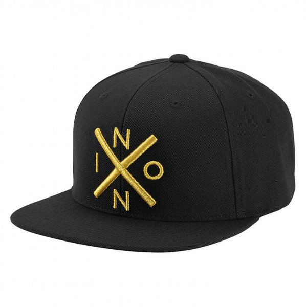 NIXON CEPURE EXCHANGE SNAPBACK BLACK GOLD