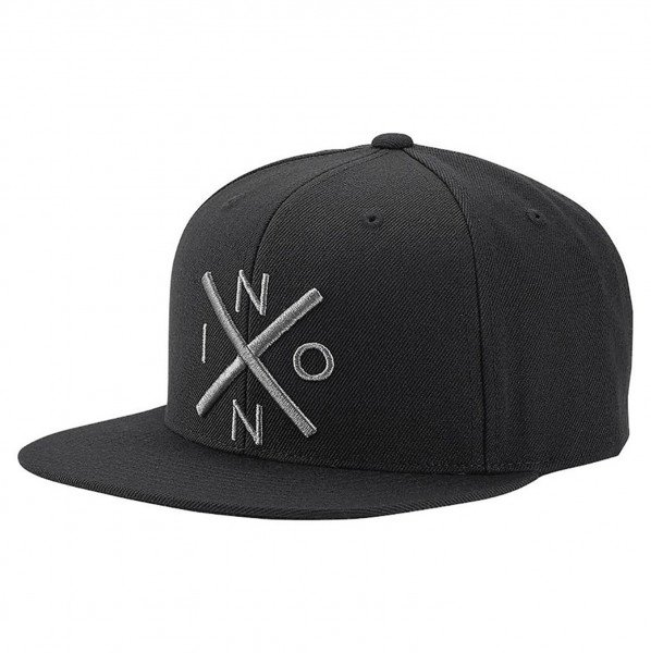NIXON CEPURE EXCHANGE SNAPBACK BLACK DARK GRAY