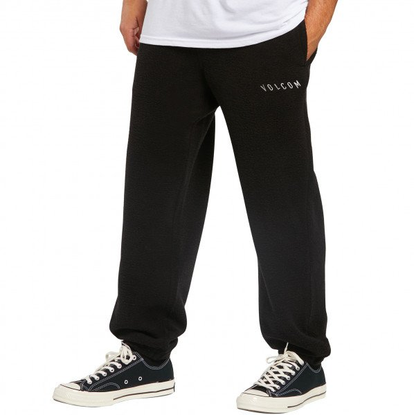 VOLCOM PANTS HEVER FLEECE BLK