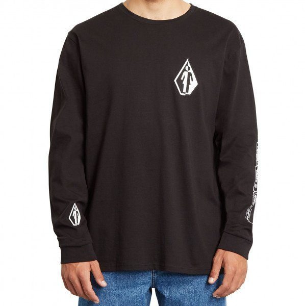 VOLCOM KREKLS TOGETHER THERE IS MORE RLX LS BLK