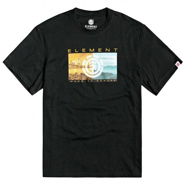 ELEMENT T-SHIRT SENTINEL SS FLINT BLACK