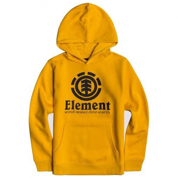 ELEMENT HOOD VERTICAL KIDS OLD GOLD