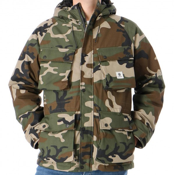 ELEMENT JAKA MOUNTAIN PARKA CAMO