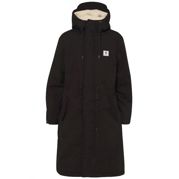 ELEMENT JAKA FIELD PARKA W FLINT BLACK