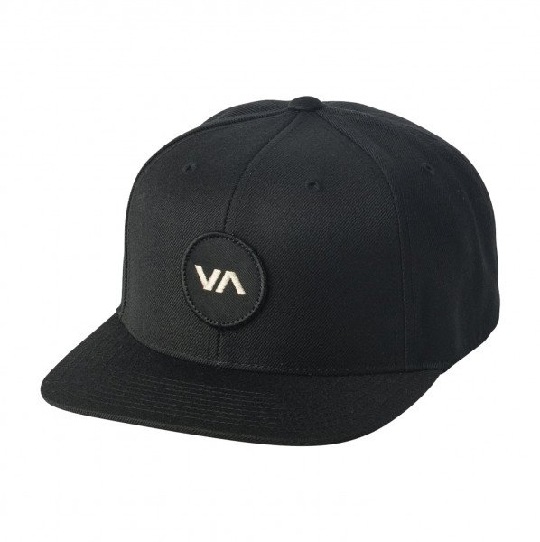 RVCA CEPURE VA PATCH SNAPBACK BLACK