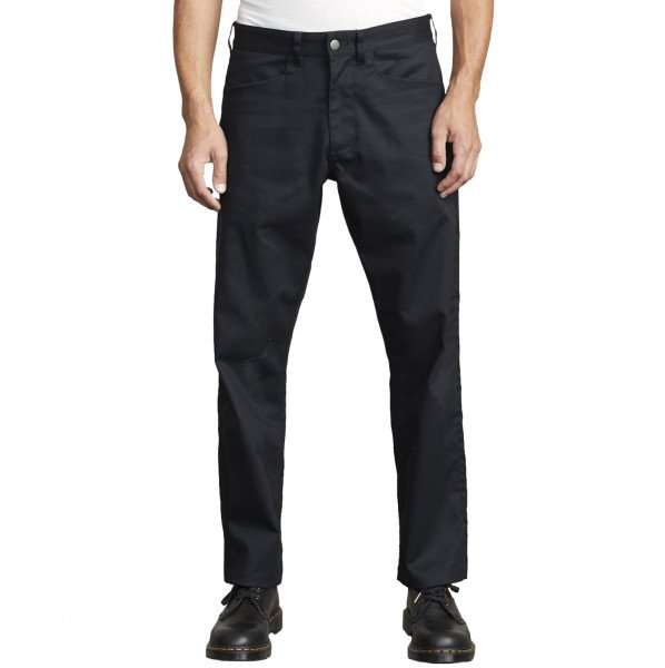 RVCA PANTS NEW DAWN PRESSED BLACK