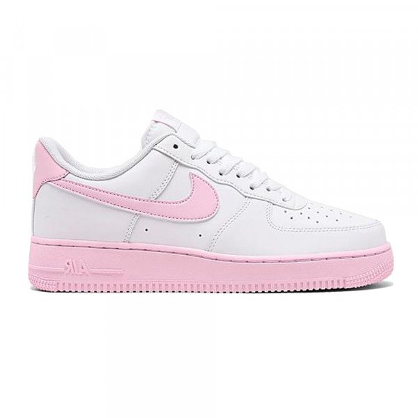 NIKE APAVI AIR FORCE 1 07 WHITE PINK FOAM