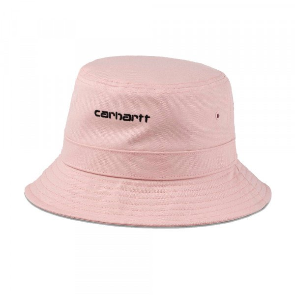CARHARTT WIP CEPURE SCRIPT BUCKET FROSTED PINK BLACK