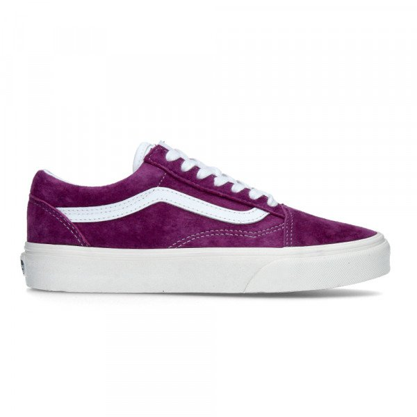 VANS APAVI OLD SKOOL (PIG SUEDE) GRAPE JUICE SNOW WHITE