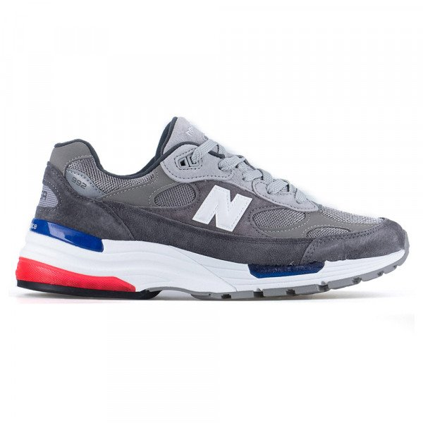 NEW BALANCE SHOES M992 AG GREY