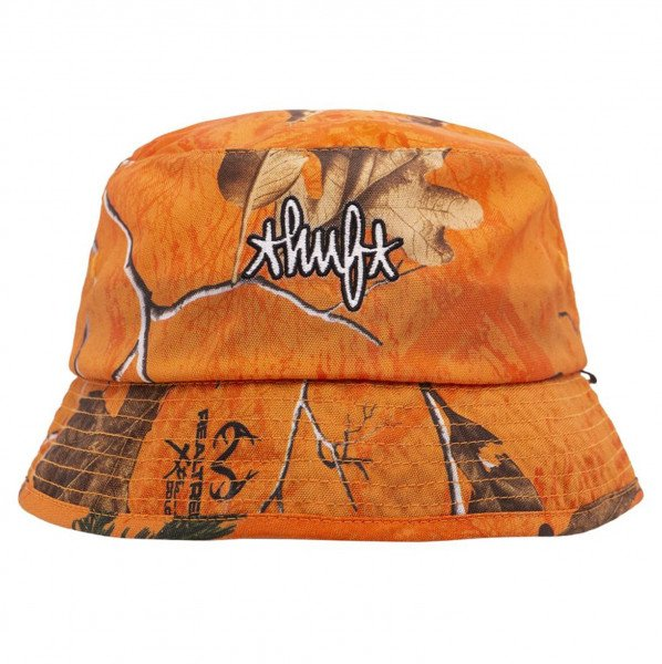 HUF HAT REALTREE BUCKET ORANGE