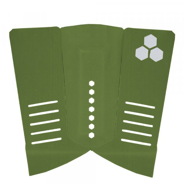 CHANNEL ISLANDS GRIPS FISH ARCH PAD ARMY GREEN