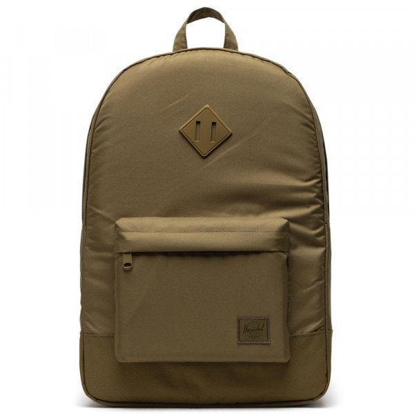 HERSCHEL BACKPACK HERITAGE POLY KHAKI GREEN