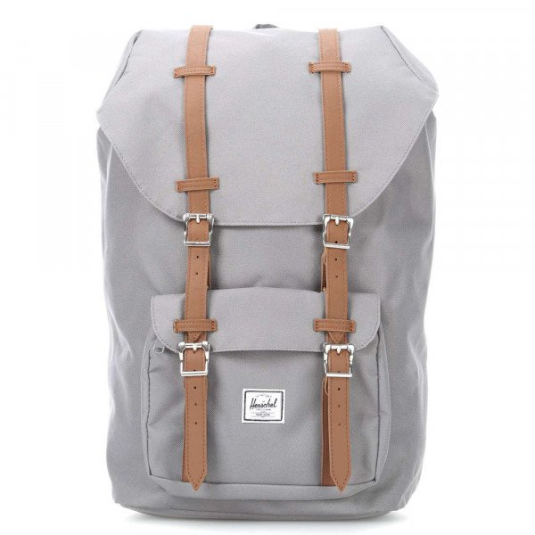 HERSCHEL SOMA LITTLE AMERICA POLY GREY