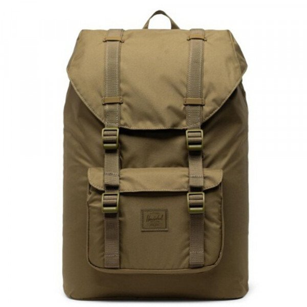 HERSCHEL SOMA LITTLE AMERICA POLY KHAKI GREEN