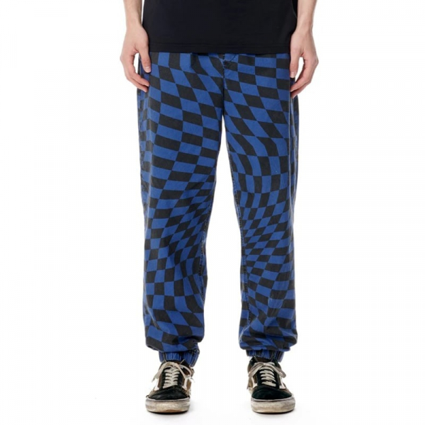 R8GZWEAR PANTS GRAZER PANT MIDNIGHT CHECK