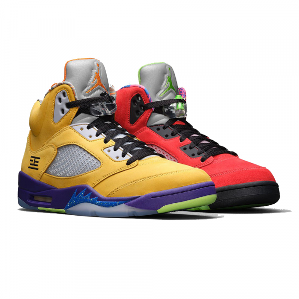 NIKE SHOES AIR JORDAN 5 RETRO SE COURT PURPLE GHOST GREEN